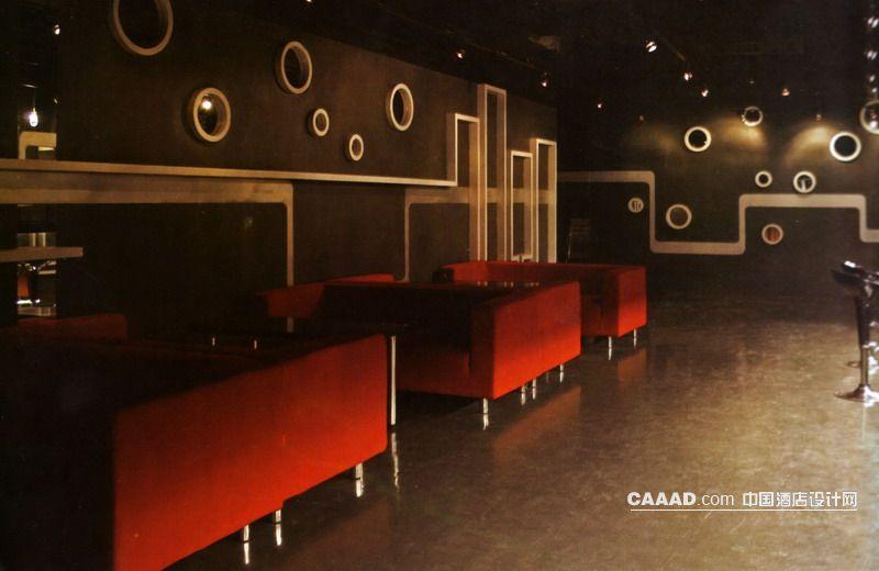 中国酒店设计网 装修效果图 >> 休息区墙面装饰大理石地面沙发椅子