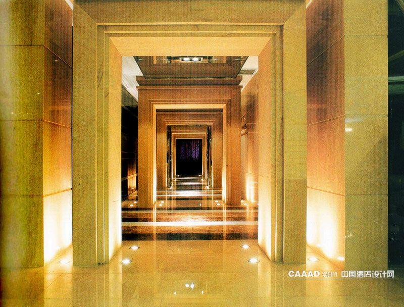 相关多重门型通道地面射灯效果图欣赏图片