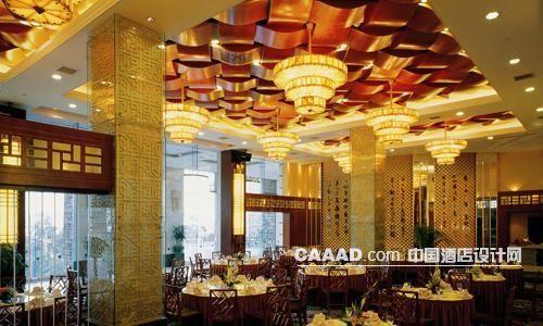 相关中式餐厅柱子吊灯天花效果图欣赏图片图片