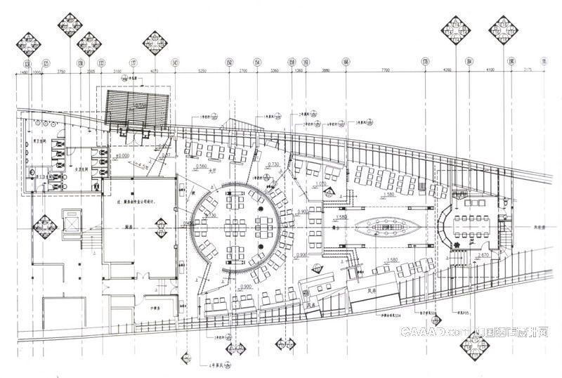 巴拉那烧烤餐厅平面布置图-中国酒店设计网