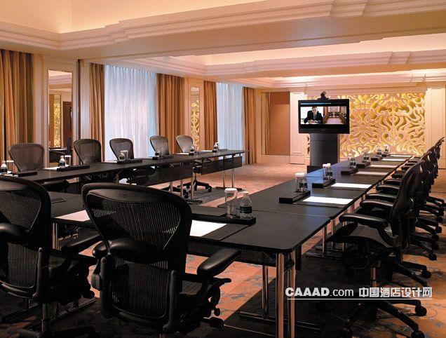 会议室墙面装饰背景墙效果图