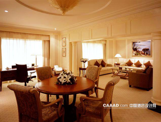 套房客厅沙发挂画茶几办公桌台灯椅子桌子椅子欧式图