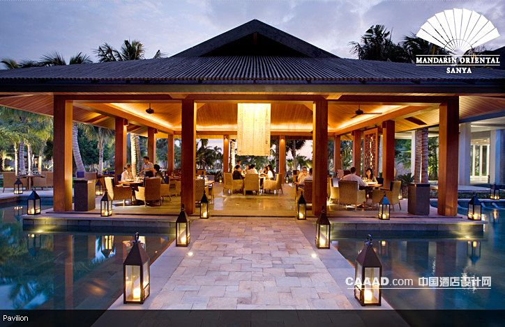 度假旅游室外餐厅木屋亭榭-中国酒店设计网