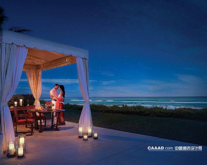 度假旅游浪漫海滩木屋亭榭-中国酒店设计网