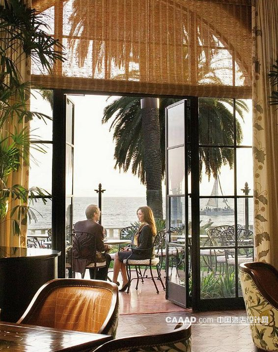 室外休闲区窗帘装修效果图欣赏图片