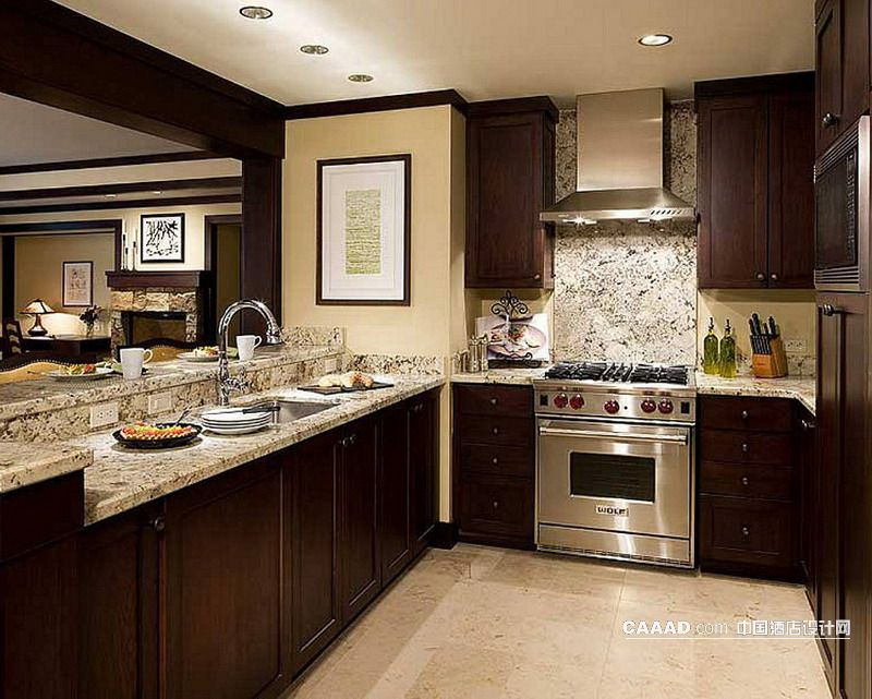 开放式厨房吊柜装修效果图欣赏图片图片