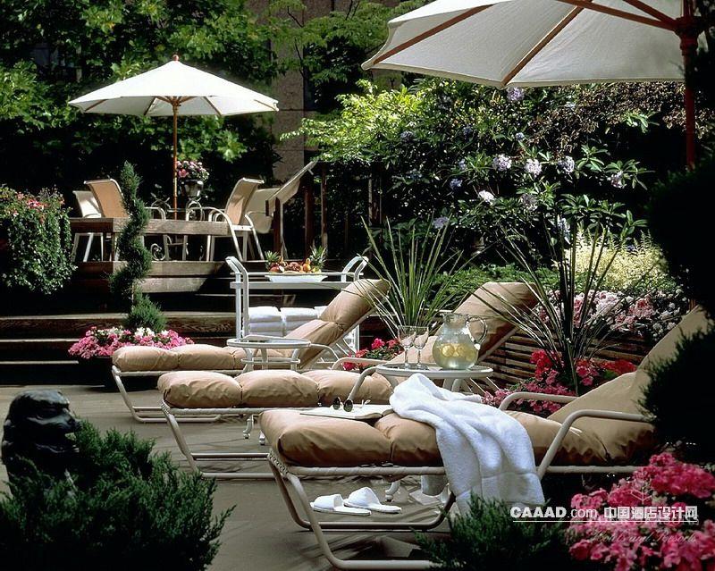室外休闲区休闲椅装修效果图欣赏图片