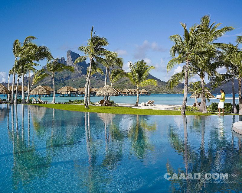 美轮美奂----波拉波拉岛四季度假村