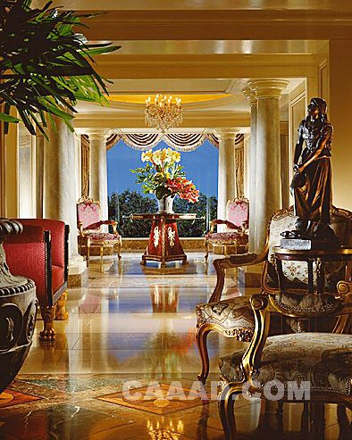 餐厅(一角)餐桌餐 spa情侣房按摩床 spa按摩房按摩床  展示台欧式椅子
