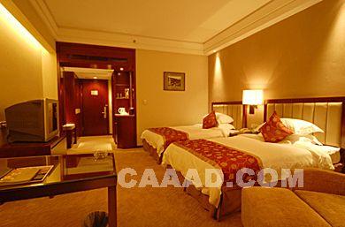 豪华双人房床装修效果图欣赏图片