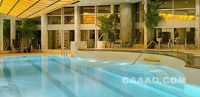 室内游泳池效果图装修