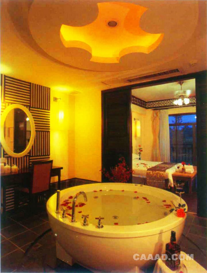 效果图 造型/度假旅游浴室天花造型浴缸梳妆台效果图欣赏共获得0 票上一张...