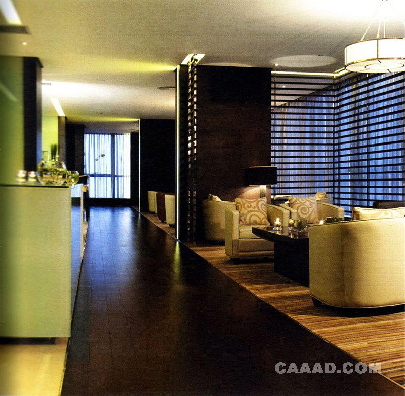 休闲区 一角 隔断沙发茶几地毯木质地板装修效果图欣赏图片高清图片