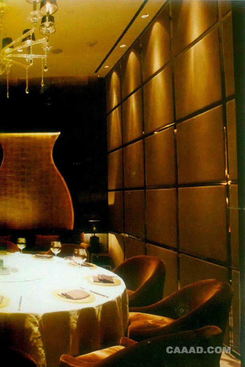 中国酒店设计网 装修效果图 >> 餐厅包房(一角)背景墙装修效果图欣赏