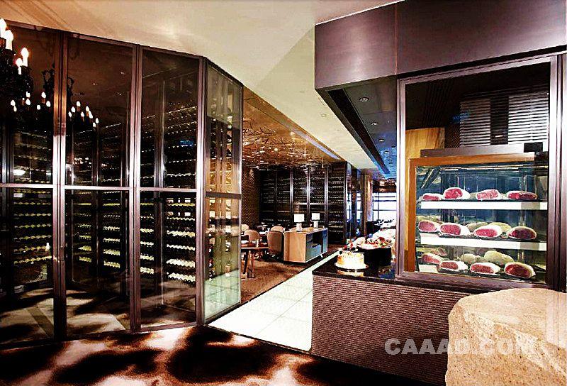 餐厅过道酒柜餐边柜装修效果图欣赏图片高清图片