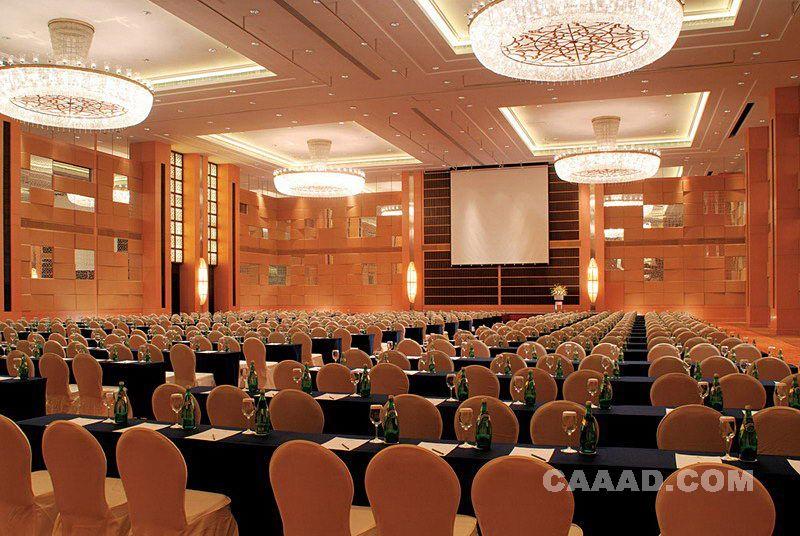 呼和浩特香格里拉大 宴会 厅会议厅 背景 墙 效果 高清图片