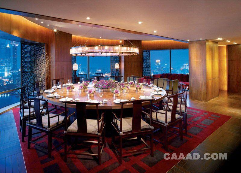 <font color=red>上海</font>外滩<font color=red>茂悦大酒店</font>中餐包房餐桌餐椅地毯木质