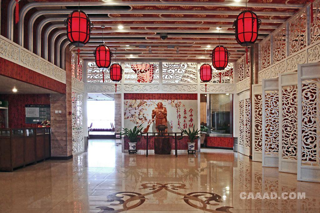 中式技法空间设计雕塑餐饮雕塑人体图片