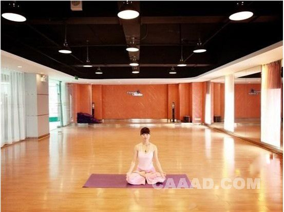 瑜伽教室装修效果图欣赏图片