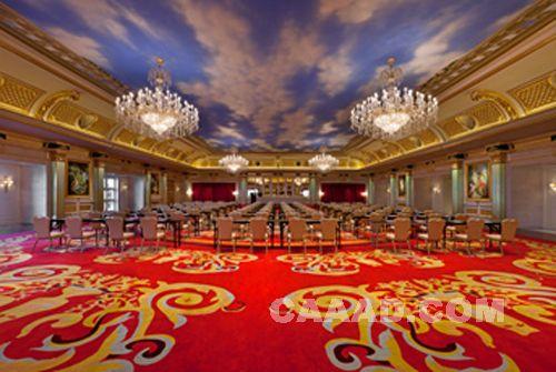 皇家宴会厅效果图_皇家宴会厅装修效果图欣赏图片