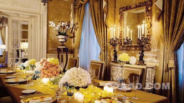 酒店总统套房餐厅 豪华欧式