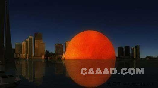 晚上变月亮白天变太阳的神奇酒店设计(组图)
