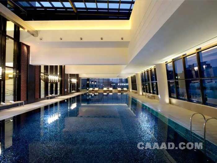 韩国游泳池别墅图片