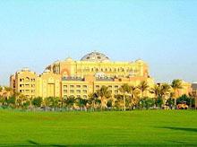 八星级阿布扎比皇宫酒店 Emirates Palace―阿拉伯联合酋