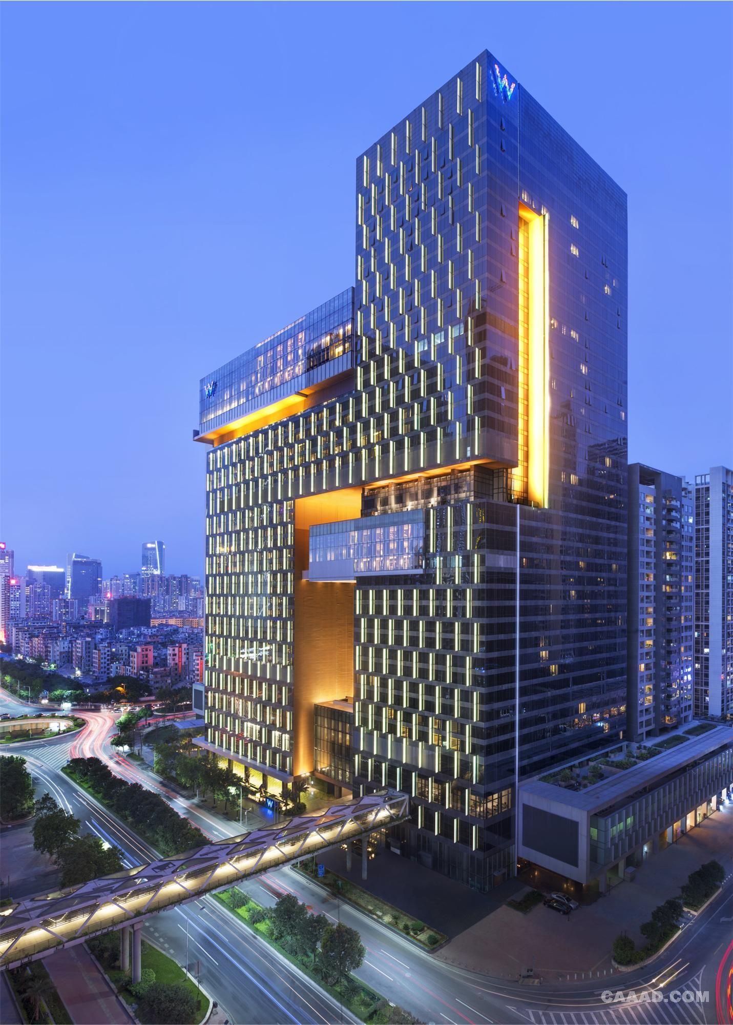 W for Hotel design hotel neruda