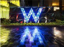 路标路牌广州W酒店标志