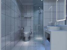 卫生间-椰子水晶酒店