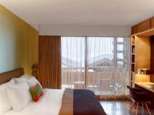 瑞士西南部阿尔卑斯山W酒店