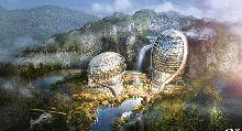 南京蜂巢七星级主题酒店设计被称为外星基地