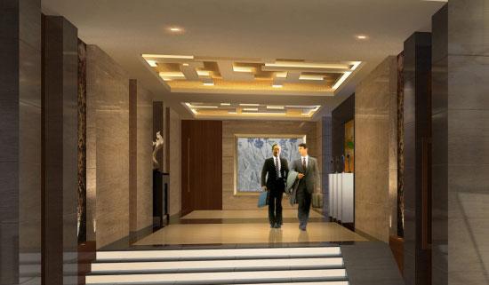 中国酒店设计网 酒店品牌 设计师作品 酒店作品 》 青岛三利集团公寓