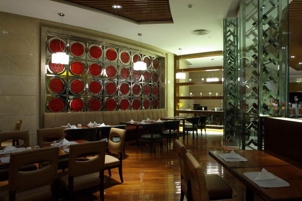 酒店中餐厅效果图_酒店中餐厅装修效果图欣赏图片
