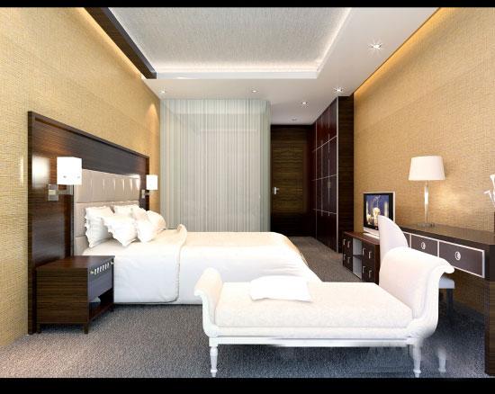 熙阳四星级酒店-熙阳酒店-标准间-1-效果图装修效果