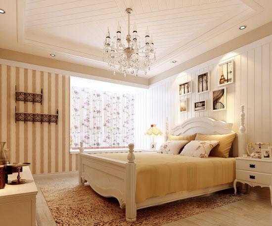 房-河源东江首府样板房室内设计效果图(韩式风格)