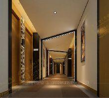 酒店设计作品-广西梧州城市精品酒店