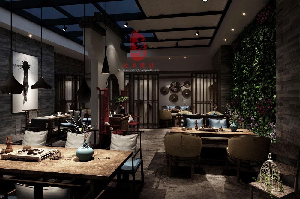 接待厅-静庐精品酒店-红专设计