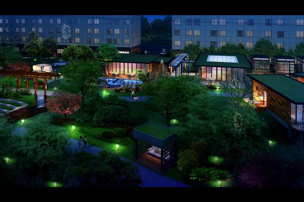 花园-航城国际花园酒店-红专设计