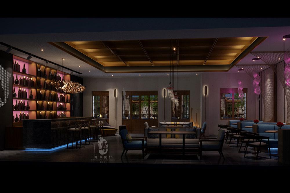 酒餐吧-重庆予与鱼精品度假酒店-红专设计