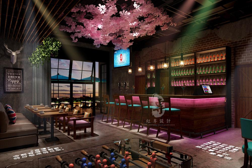 酒餐吧-一花一世界精品主题酒店-红专设计