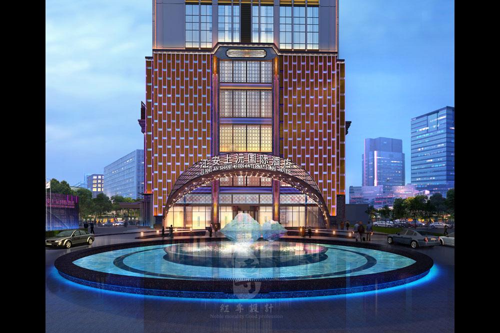 外观-江安上沅国际酒店-红专设计