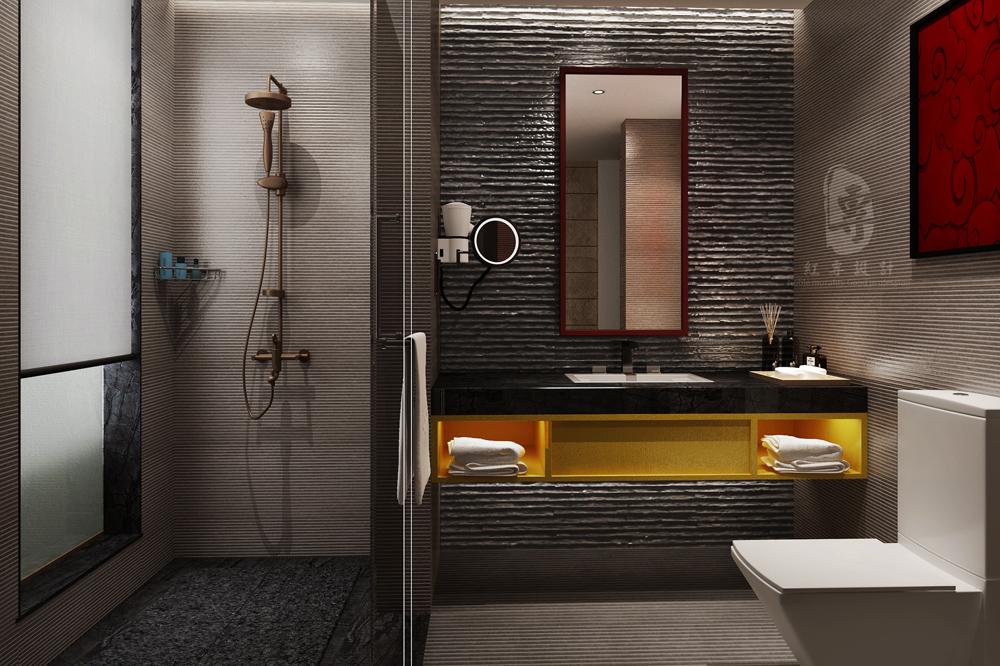 卫生间-九黄湾国际温泉度假酒店-红专设计