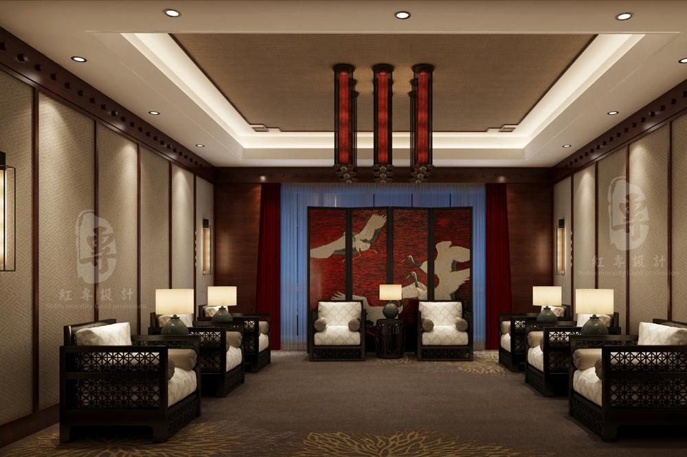 会议室-九黄湾国际温泉度假酒店-红专设计