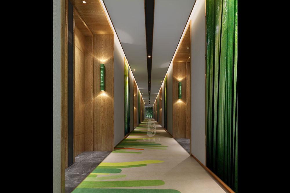 过道-竹子国际大酒店-红专设计