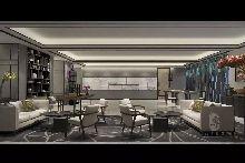 接待厅-万达郫县H和枫酒店-红专设计