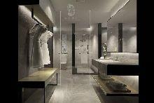 卫生间-万达郫县H和枫酒店-红专设计