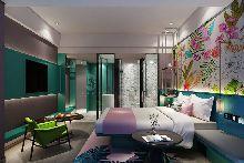 客房-轻居精品酒店-红专设计