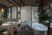 卫生间-重庆予与鱼精品度假酒店-红专设计
